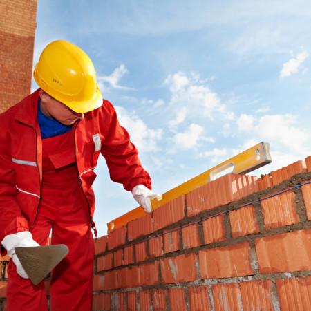 mursten bliver lagt